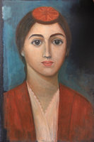 Woman from Pontos, oil on canvas, 40x50 cm