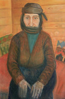 Grandmother from Pontos, oil on canvas, 50x70 cm